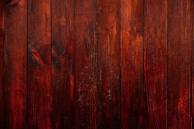 Vintage brązowy tekstury tła drewna z węzłami i otworami na gwoździe
