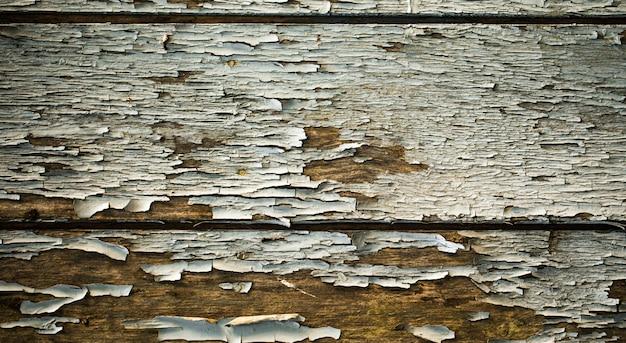 Vintage drewniana biała tablica. piękne tło.