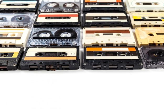 Vintage kasety magnetofonowe