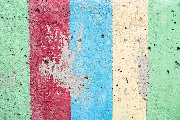 Vintage lub grunge wielobarwne tło z naturalnego cementu lub kamienia stary tekstura