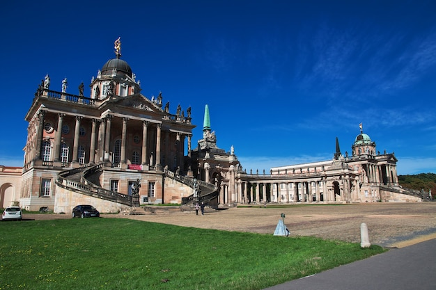 Vintage pałac poczdamski, berlin, niemcy