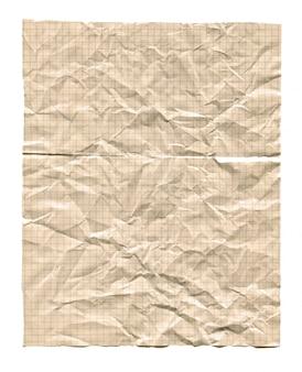 Vintage papier milimetrowy