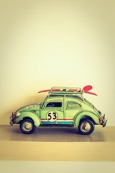Vintage samochód zabawka