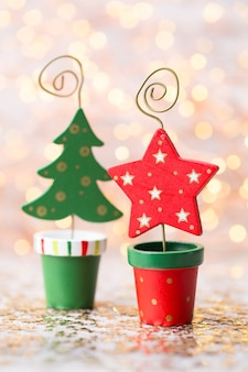 Vintage świąteczne dekoracje