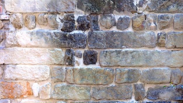 Vintage szary ceglany mur tekstura tło materiał tła do wielu celów