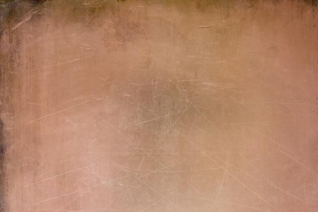 Vintage tekstura miedzi, tło z brązu metalowej powierzchni