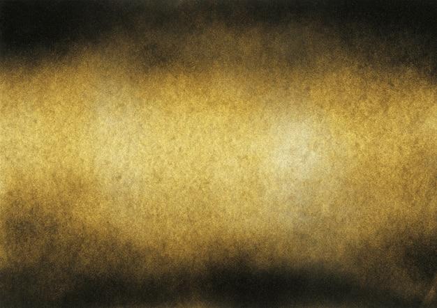 Vintage tekstury czarny i złoty szum. streszczenie poplamiony tło dla winiety.