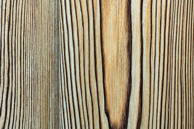 Vintage tekstury drewna z węzłami. zbliżenie z góry na tło lub dzieła sztuki.