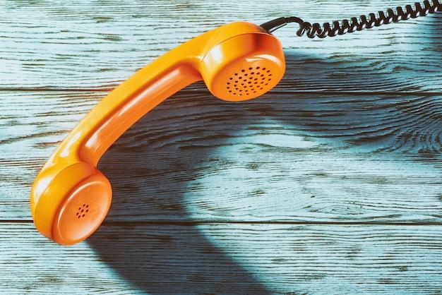 Vintage telefon słuchawki