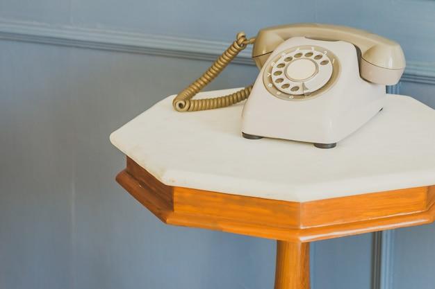 Vintage telefon - vintage filtr