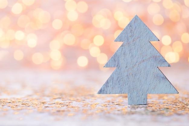 Vintage tło boże narodzenie z dekoracją świąteczną.