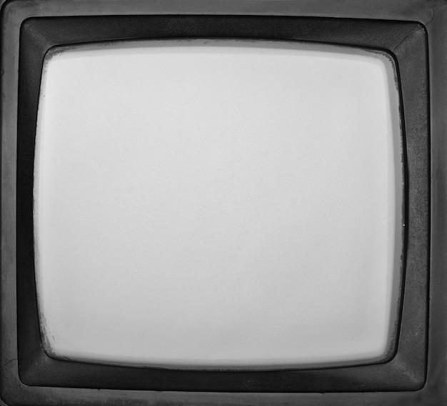 Vintage tło ekranu telewizora