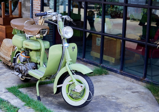 Vintage włoski skuter lambretta