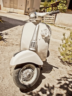 Vintage włoski skuter
