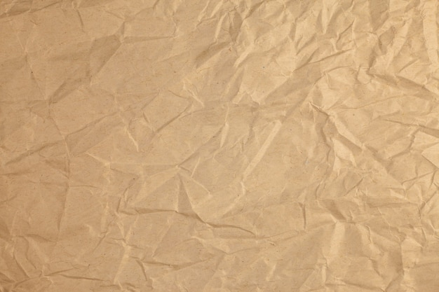 Vintage zmięty recyklingu papieru tło.