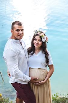 W ciąży z mężem