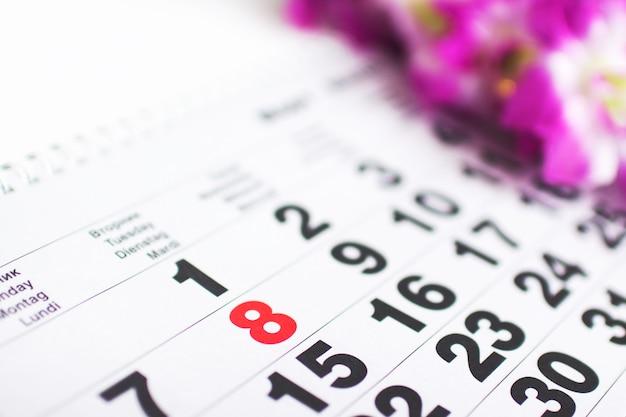 W kalendarzu 8 marca