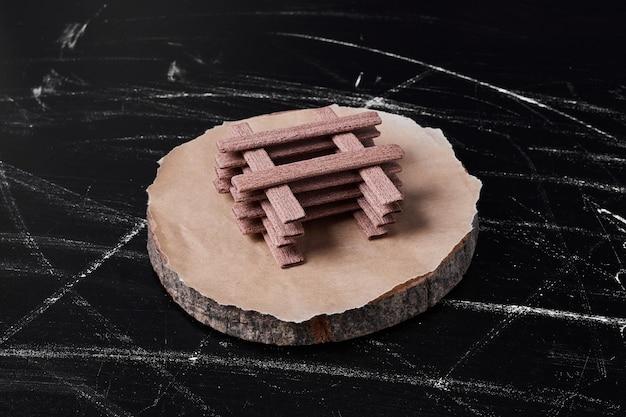 Wafle kakaowe