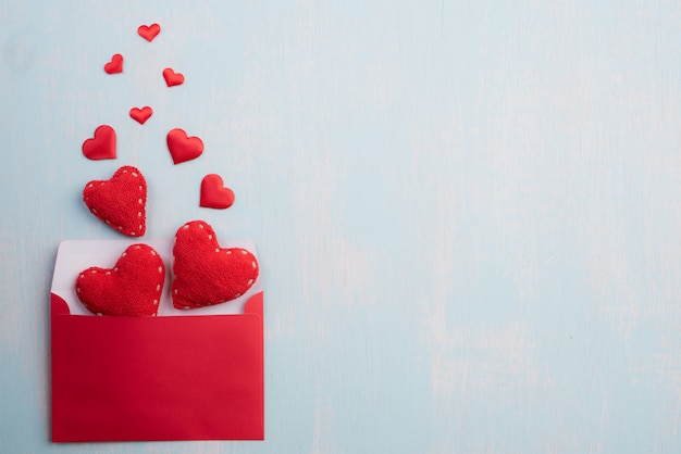 Walentynki-dzień i miłość koncepcja tło.