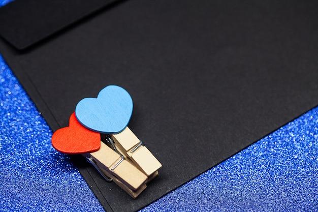 Walentynki-dzień tło. puste miejsce na kopię miejsca na tekst