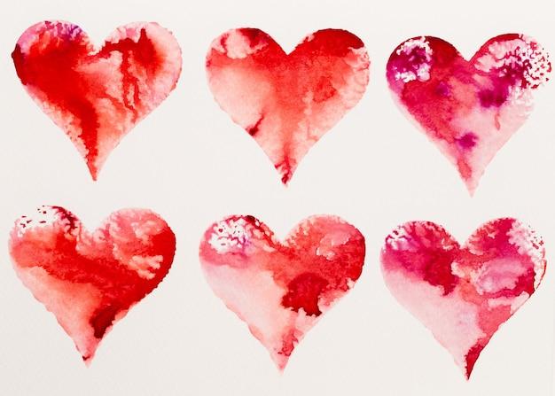 Walentynki kartka z życzeniami, miłość, związek, sztuka, malarstwo