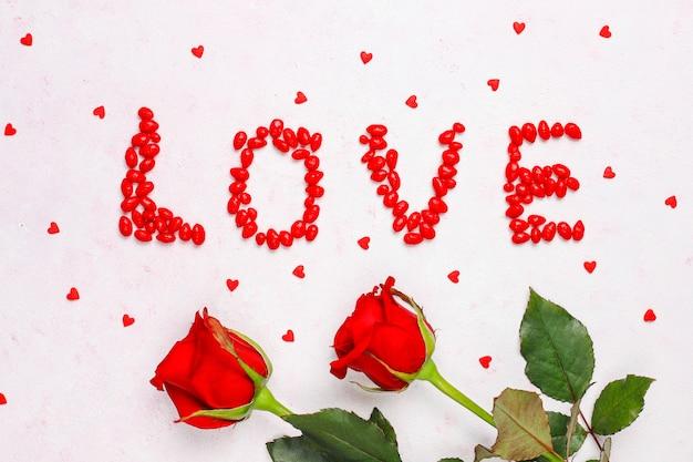 Walentynki karty z różami