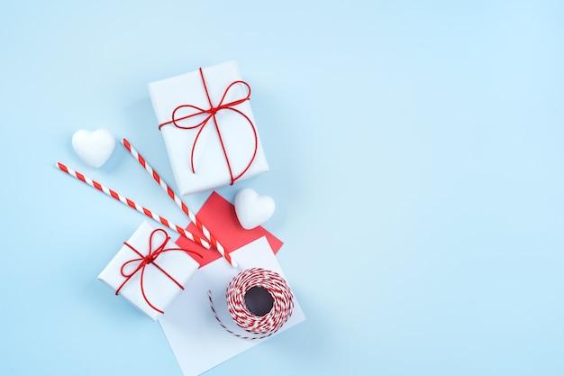 Walentynki pozdrowienie ręcznie pakowane pudełko