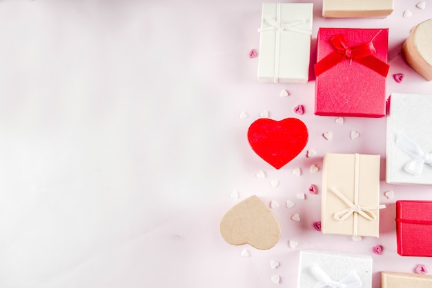 Walentynki prezenty pudełka na prezenty