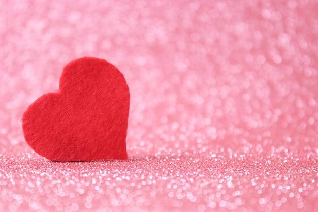 Walentynki tło w sercach w stylu minimalizmu