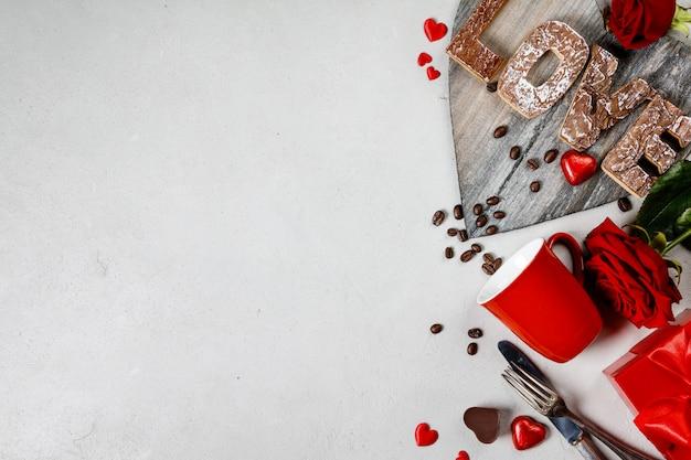 Walentynki tło