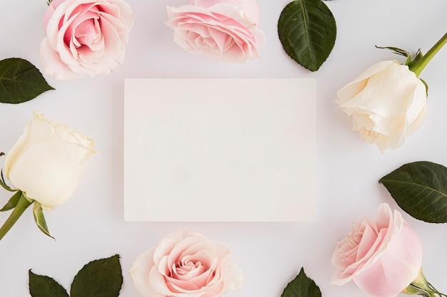 Walentynki z koncepcją przestrzeni kopii