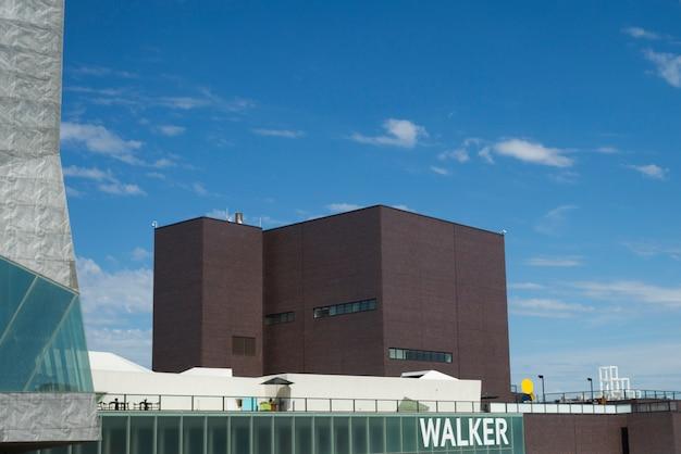 Walker art center w minneapolis, hrabstwo hennepin, minnesota, usa