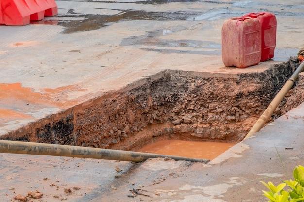 Warstwa gleby i drogi