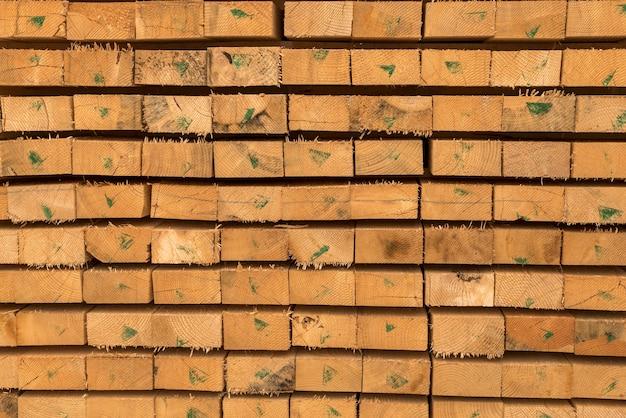 Warstwy drewna deski tło widok z przodu