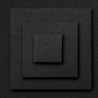 Warstwy tła czarnych kwadratów