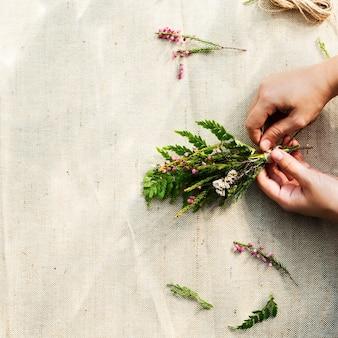 Warsztaty rękodzieła kwiatów