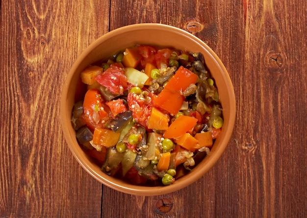 Warzywa bułgarskie i rumuńskie