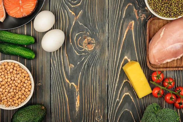 Warzywa i mięso z diety flexitarian