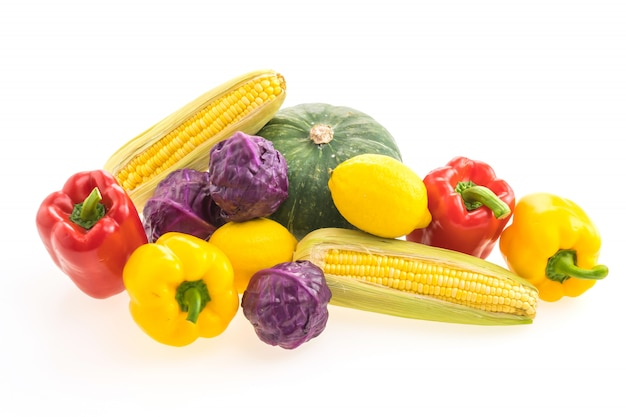 Warzywa izolowane