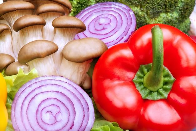 Warzywa makroprodukty składniki żywności