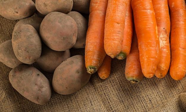 Warzywa na kocu