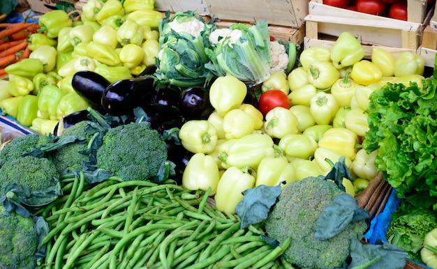 Warzywa na rynku