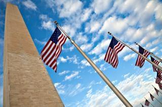 Washington monument obraz