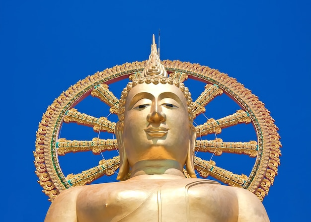 Wat phra yai, wielka świątynia buddy na koh samui, tajlandia