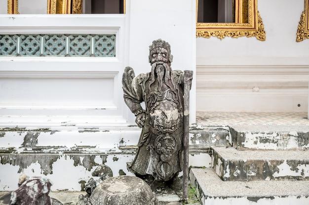 Wat ratcha orasaram ratchaworawiharn to królewski klasztor pierwszej klasy, który istnieje od okresu ayutthaya, bangkok, tajlandia