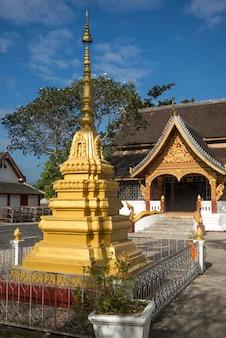 Wat xieng thong świątyni, luang prabang, laos