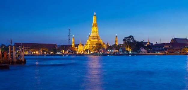 Wata arun świątynia w bangkok tajlandia