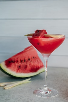 Watermellon martini