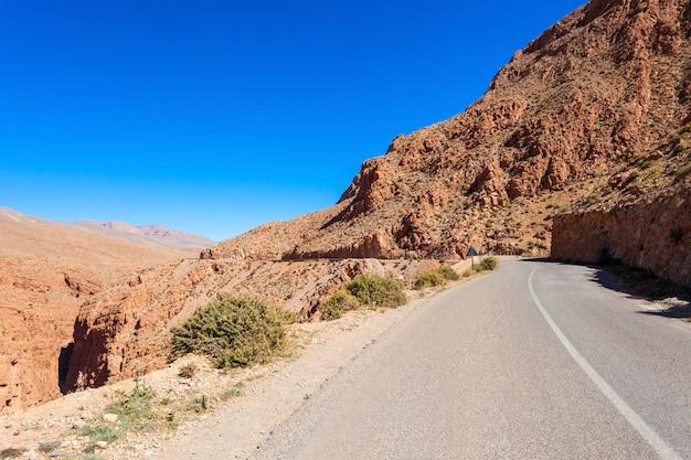 Wąwóz dades, maroko