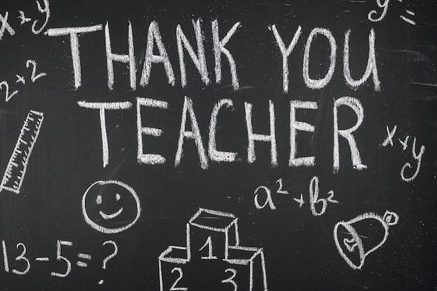 Wdzięczność mówiąc: dziękuję nauczycielu
